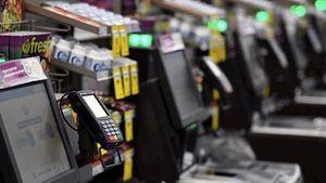 澳洲超市的自助結賬機