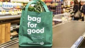 澳洲超市的購物袋