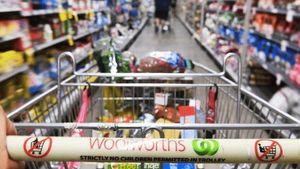 澳洲超市的購物車