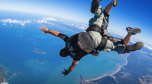 墨爾本跳傘