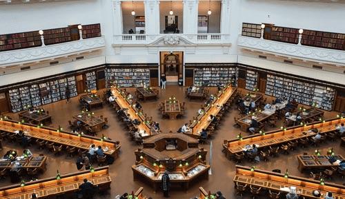 維多利亞圖書館
