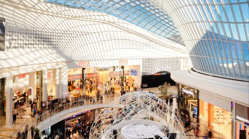 查斯頓購物中心波浪形屋頂