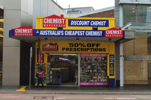 Chemist Warehouse美妝店
