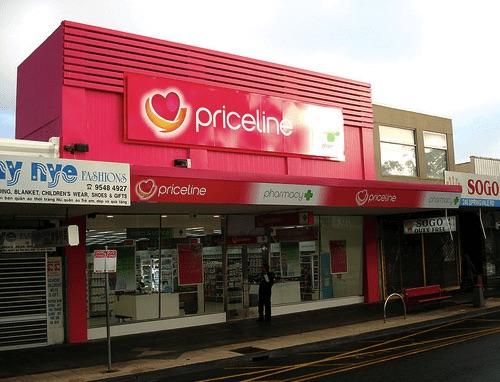 Priceline美妝店