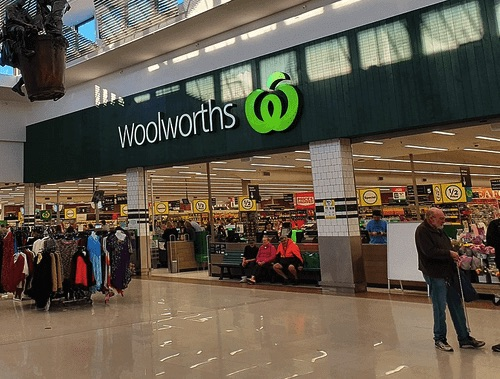 Woolworths日常用品超市