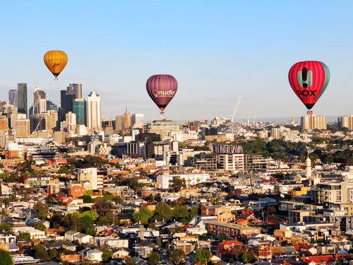 墨爾本熱氣球