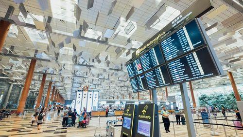 墨爾本機場的大廳